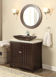 Bathroom Furniture Vanity Cabinets 30 Vessel Sink Vanity Cabinet Model Hf339a With Matching