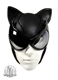 arkham city robin halloween costume batman cat woman arkham city cowl with mirrored cat goggles