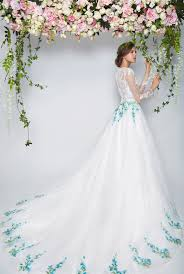 design a wedding dress the garden collection
