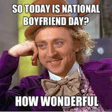 October 3 Meme - national boyfriend day wednesday 3 october all you should know
