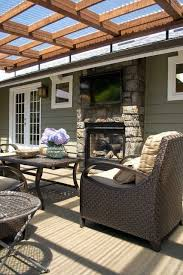 How To Cover A Pergola From Rain by Best 10 Deck Awnings Ideas On Pinterest Retractable Pergola