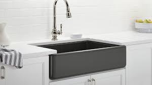 stainless farmhouse kitchen sink appliance black stainless steel kitchen sink black farmhouse with