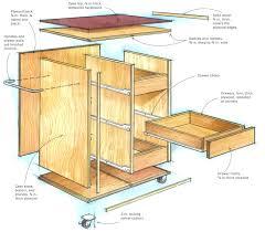 Rolling Storage Cabinet Diy Rolling Cabinet Shelves Aluminum Doors Tool Plans