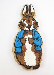 peter rabbit cookie decorated cookie