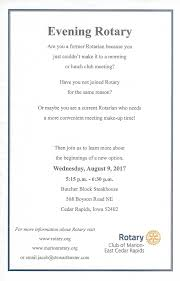stories rotary club of marion east cedar rapids evening rotary begins august 9