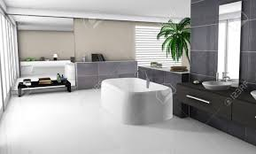 Contemporary Home Interior Designs Modern Home Interior Of A Luxury Bathroom With Contemporary