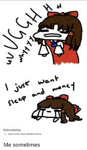Nice Boat Meme - want reimu is the most relatable touhou me sometimes dank meme on