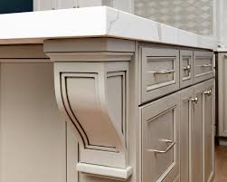 Kitchen Island With Overhang by Custom Grey And White Kitchen Belmar New Jersey By Design Line