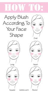 face shape oval long heart square and round hope this helps for s like me either