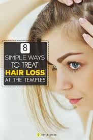 thinning hair in women on top of head temple hair loss is the thinning of hair at the temples although