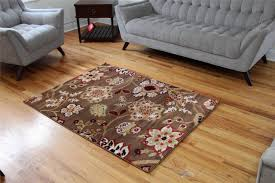 Livingroom Area Rugs Floors U0026 Rugs Chocolate With Floral Petrent 8x10 Area Rugs For