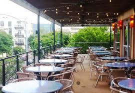 austin dallas san antonio private dining rooms patio setting