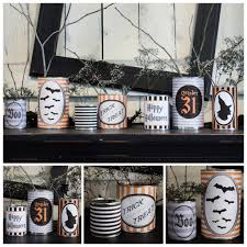 halloween can crafts free printable halloween can wrappers crafts bottle and