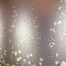 tempaper wallpaper tempaper chinoiserie wallpaper panels laurel home