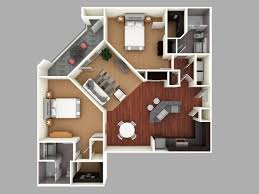 Architectural Plans For Houses 3d Colored Floor Plan Architecture Colored Floor Plan
