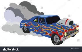 monster trucks races cartoon cars speeding racing car stock vector 329203712 shutterstock