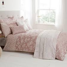 naomi soft pink parsley luxury duvet cover julian charles