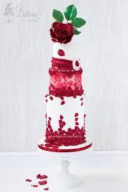 valentine u0027s wedding cake by bellaria cake design http