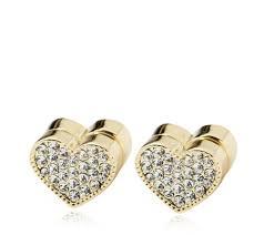 usher earrings frank usher heart magnetic earrings qvc uk