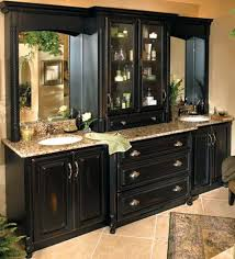 black cabinet for bathroombathroom master bath suite french flair