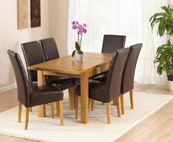 Oak Dining Room Table And 6 Chairs Innovative Decoration Dining Table 6 Chairs Staggering Oak Dining