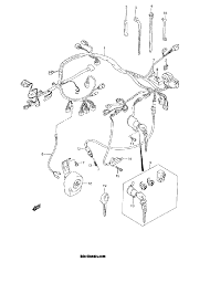 2001 suzuki vl1500 intruder wiring harness model y k1 k2 parts