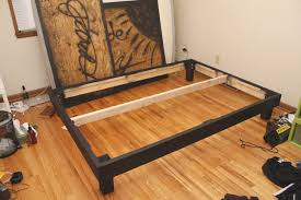 How To Build Platform Bed Frame Easy Way To Build Platform Bed Frame Fresh Build A Size