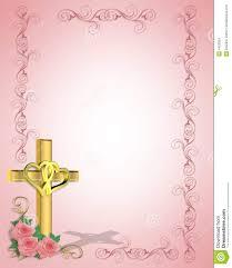 wedding invitation background free download wedding invitation christian cross stock images image 4423924