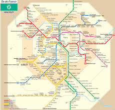 A Train Subway Map by Paris Metro Map Subway Map New Zone