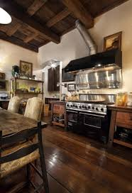 creative kitchen design with modern kitchen island and wooden
