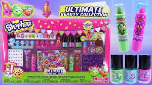 new shopkins ultimate beauty collection shopkins nail polish lip