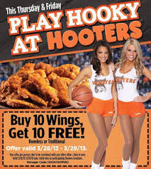 hooters coupons printable thanksgiving deals 2018