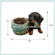 resin garden dog planter resin garden dog planter suppliers and