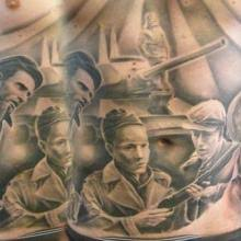 big tattoo planet freedom fighters from hungarian revolution 1956