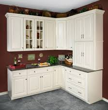 Design Ideas For Kitchen Cabinets Kitchen Antique White Kitchen Cabinets Financing Cheap Design