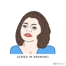 What Does Meme Mean In Spanish - reasons to use the crying in spanish meme popsugar latina