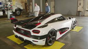 car koenigsegg one 1 jay leno u0027s garage welcomes the koenigsegg one 1