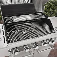 Spider Burners by Kenmore Elite 5 Burner Gas Grill Stainless Steel