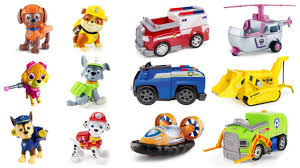 match paw patrol pups vehicles u0026 learn colors fizzy toy