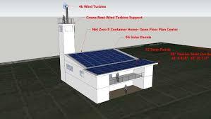 net zero container home 3d warehouse