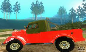 gaz 69 off road gaz 69 pickup for gta san andreas