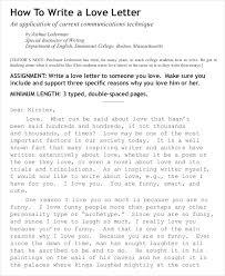love letter u2013 10 free word pdf documents download free