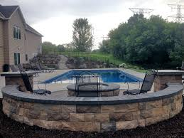 woodbury mn backyard pool project landscapes unlimited