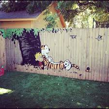 Backyard Fence Decorating Ideas Backyard Fence Decorating Ideas Outdoor Goods