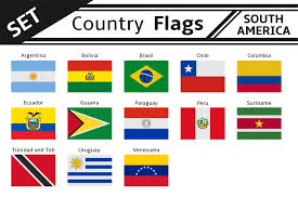 set countries flags north america illustrations creative market