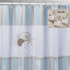 shower curtains seashells davotanko home interior