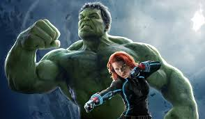 avengers age of ultron black widow wallpapers hulk and black widow by steeven7620 on deviantart