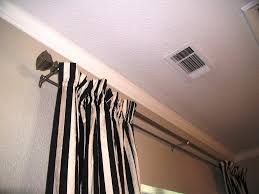 decorating antique dark double curtain rods for inspiring