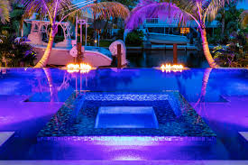 landscape lighting south florida water features u0026 fire features portfolio of aaa custom pools inc