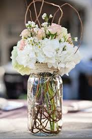 jar flowers 30 rustic twigs and branches wedding ideas fresh flowers